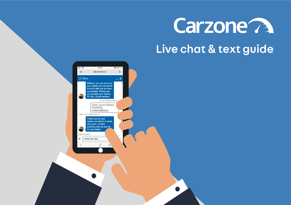 Live Chat & Text Guide