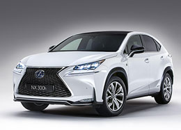 Lexus NX Electric Car