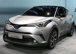 Toyota C-HR Hybrid Car