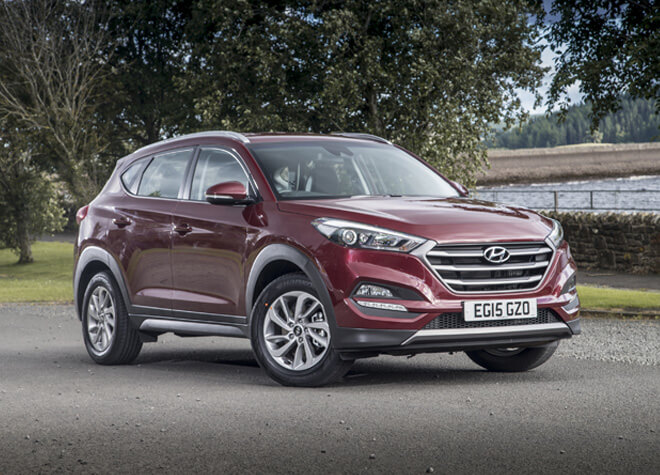 Hyundai Tucson New Car